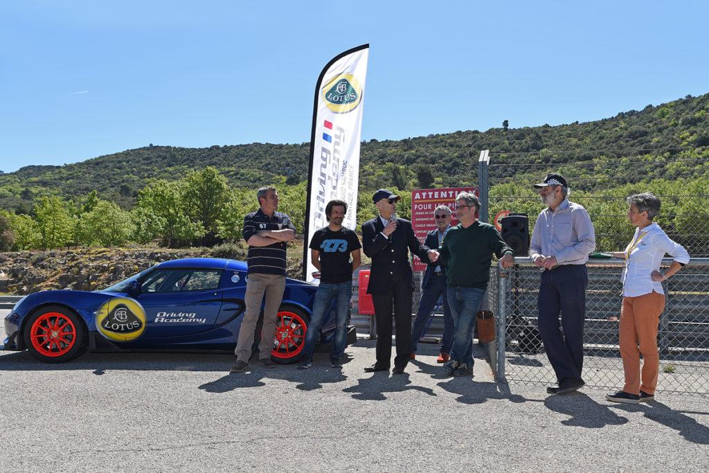 Lotus Driving Academy Circuit du Grand Sambuc ©Raymond Papanti