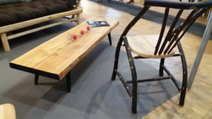 Table basse & Fauteuil Chaman